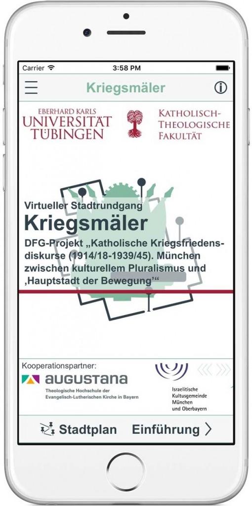 App - Kriegsmäler in München