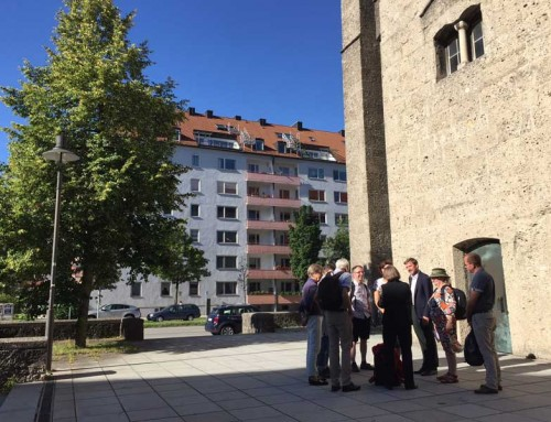 Dritter Stadtrundgang mit der App Kriegsmäler in München
